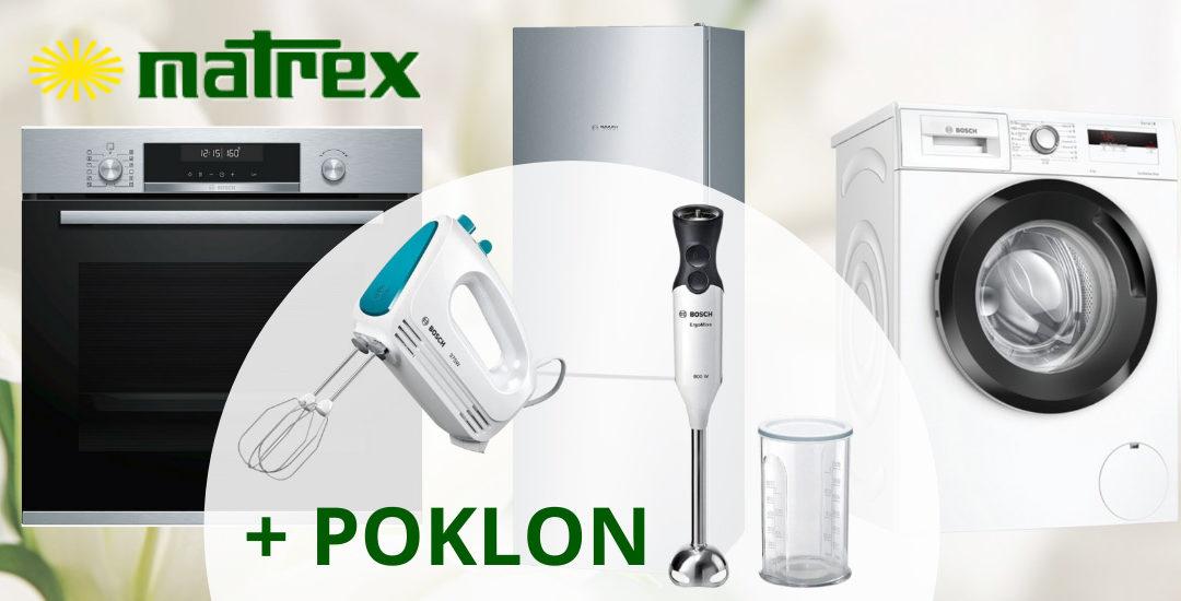 Nagrađujemo svaku kupovinu odabranih Bosch kućanskih aparata i klima uređaja!
